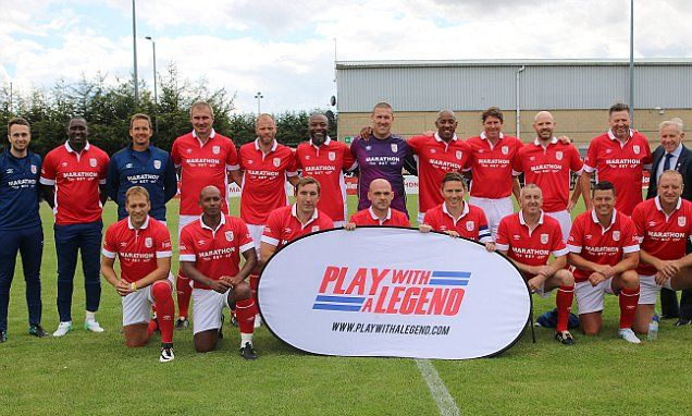 Premier League legends XI thrased by non-league Corby Town