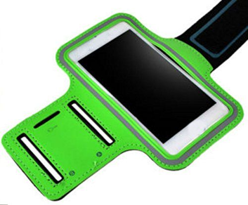 "myLife Wasabi Green + Galaxy Black {Rain Resistant Velcro Secure Running Armband} Dual-Fit with Key Slot Jogging Arm Strap Holder for Sony Xperia Z2 and Z3 ""All Ports Accessible"" myLife Brand Products http://www.amazon.com/dp/B00UM4EK4Q/ref=cm_sw_r_pi_dp_9Vbjvb06V9HXW"