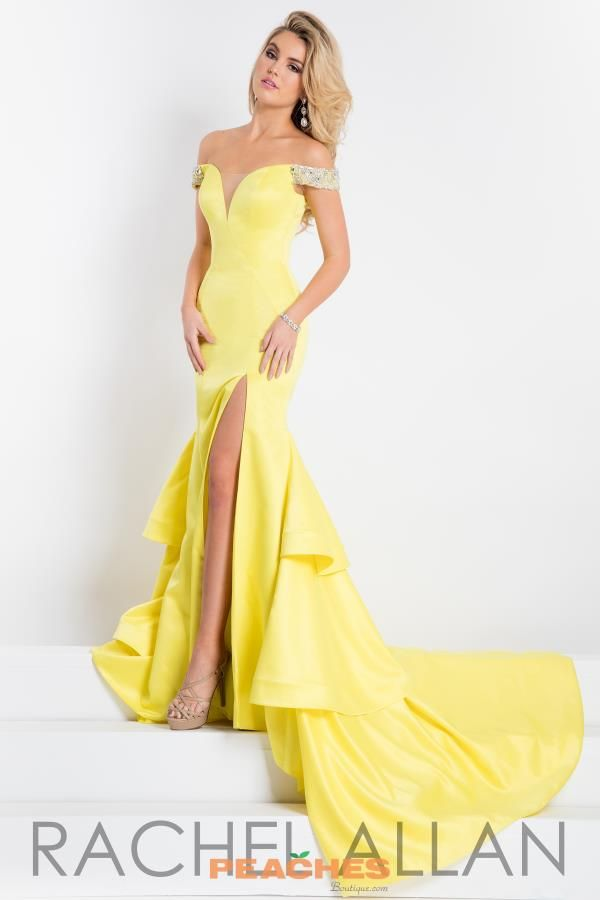 Prima Donna Pageant Satin Long Dress 5879