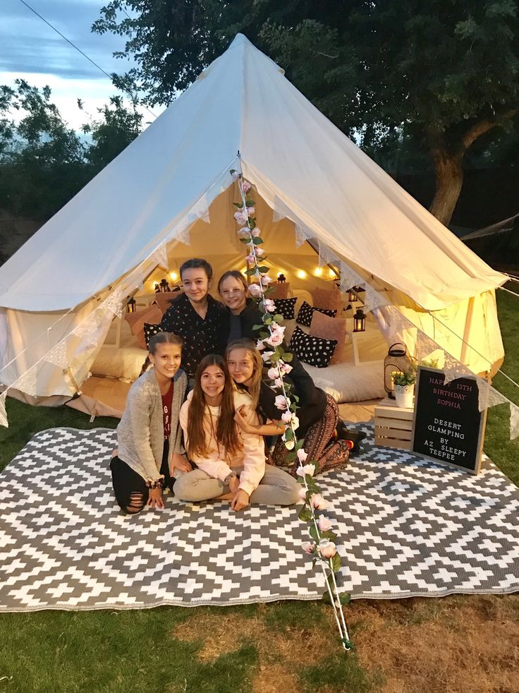 Go Glamping In Your Backyard For The Coolest Sleepover