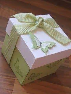 Papillon Potpourri Hand Made Gift Box - Stampin' Up UK