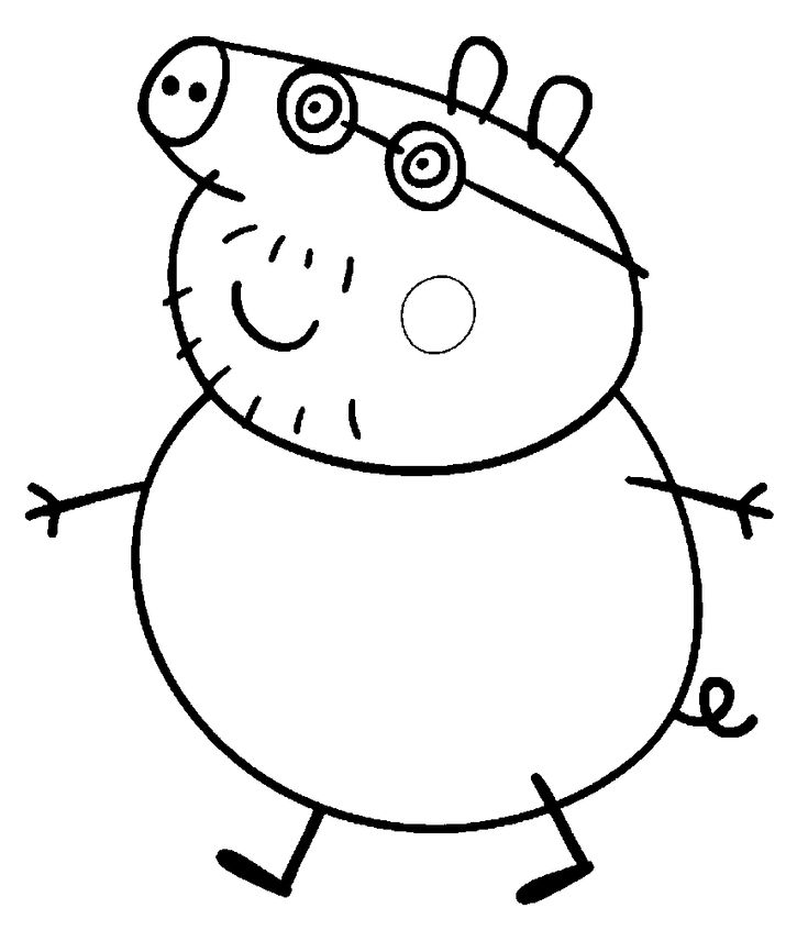 peppa pig coloring pages birthday balloon | 434 best PEPPA PIG images on Pinterest | Balloon, Balloons ...