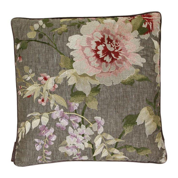 Discover+the+Osborne+&+Little+Persian+Garden+Cushion+-+Purple+at+Amara