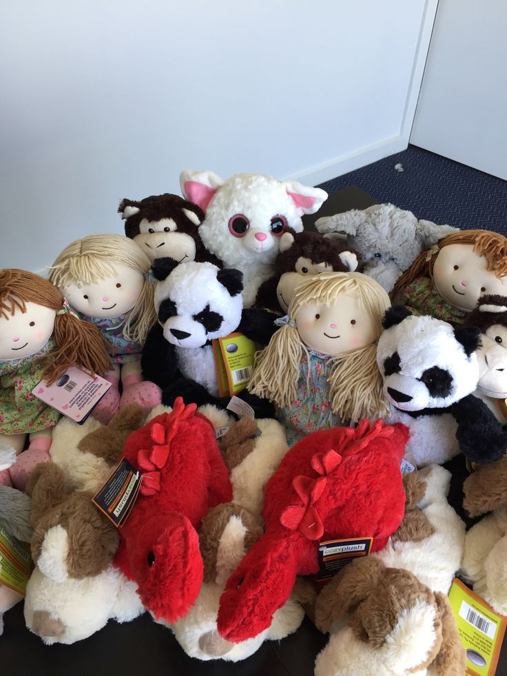 These cute little guys will be our new heat packs for the Kid's Chemo Kits