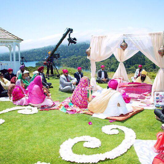 Best 25 punjabi wedding decor ideas on pinterest desi wedding punjabi wedding an rr original for indian wedding decorations in the bay area junglespirit Images