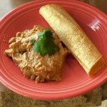 Pressure Cooker Green Chicken Enchilada Casserole - Pressure Cooker Mexican Chicken Green Enchilada Casserole - https://twosleevers.com