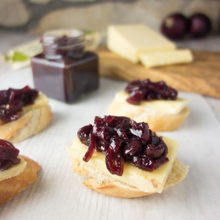 Caramelised Red Onion Chutney goes great on your sandwiches!