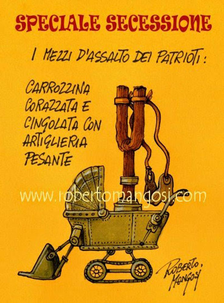 ITALIAN COMICS - Speciale secessione veneta