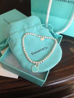 .Tiffany& CO heart necklace