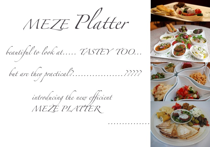 The first pin......... Introducing the must have Meze Platter... Making life easy....