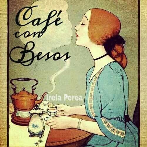 -Debes saber que, a tu lado, tal vez me cueste dormir. -Eso no será un problema. Nos quedaremos los dos despiertos; tomaremos más café con besos. #irelaperea #fotopoesia #frases #desayuno #cafe #besos