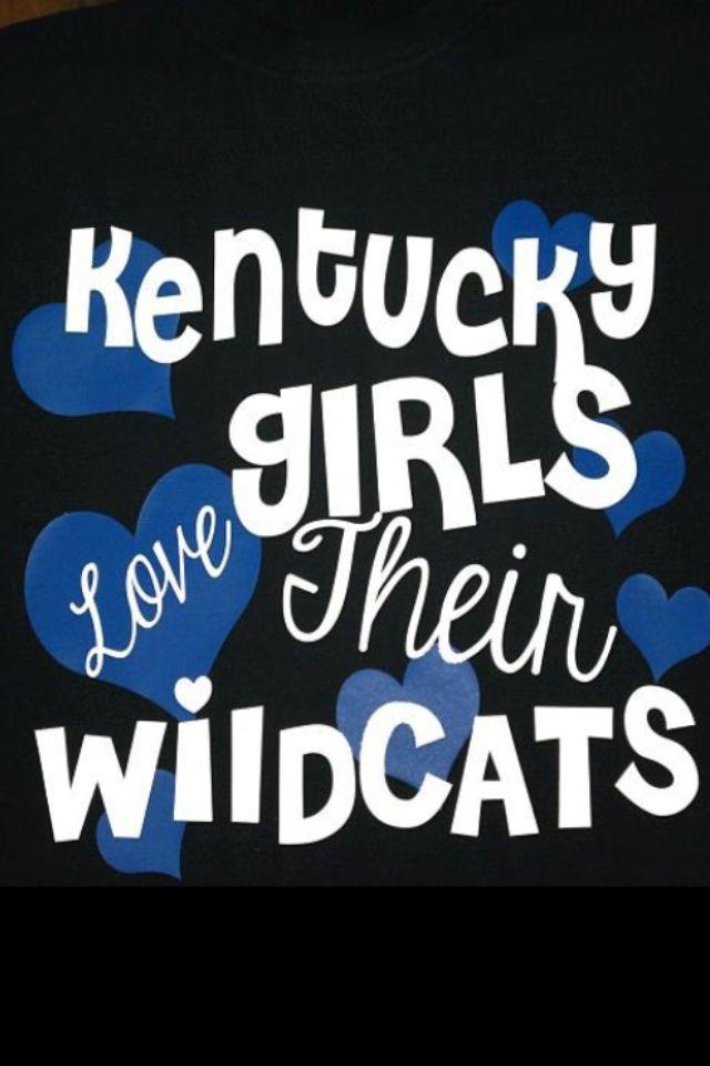 Kentucky Girls Love Their Wildcats
