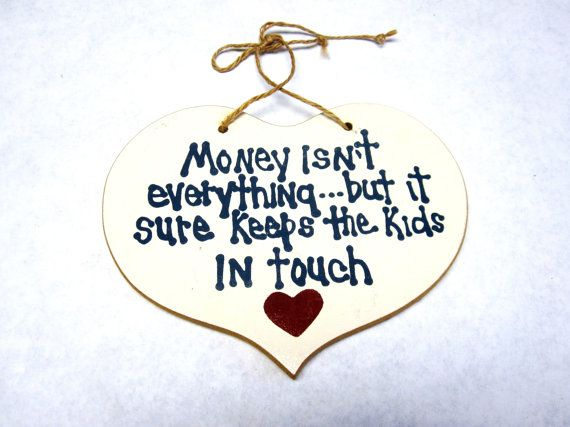 Funny Sign Money Isn't Everything But It Sure by sweetie2sweetie, $5.99