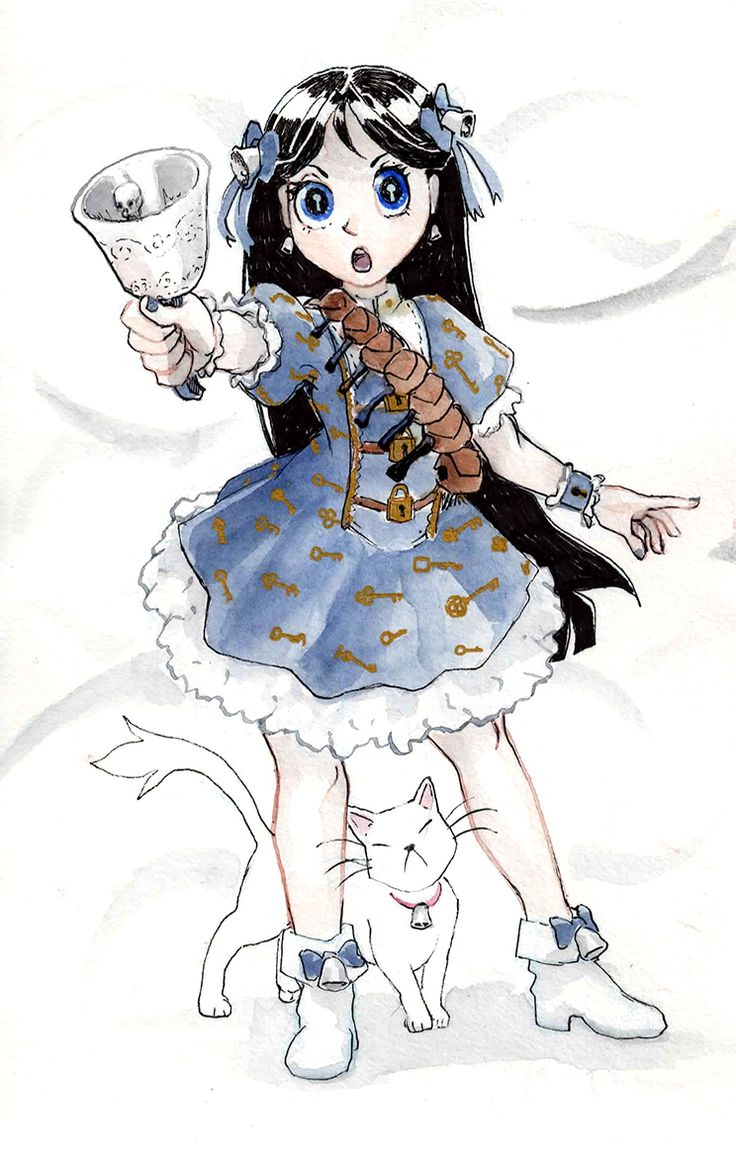 Magical Girl Based On Garth Nix' Old Kingdom Series, Which Is Really Great