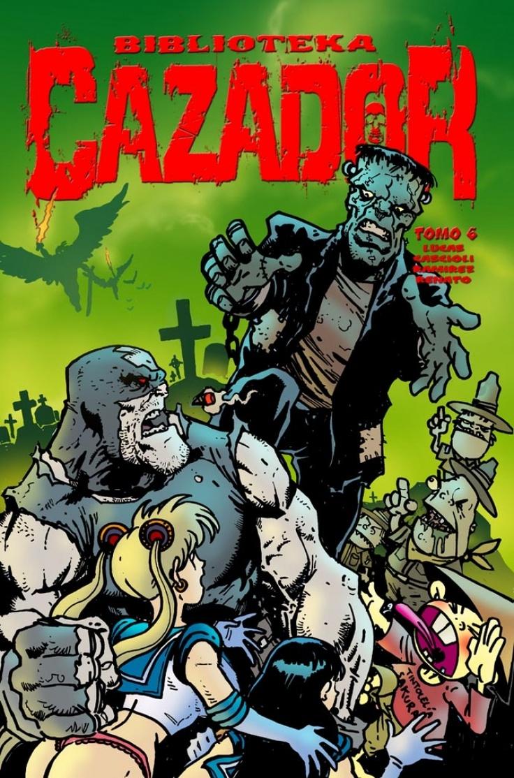 EL CAZADOR, el comic bizarro argentino.
