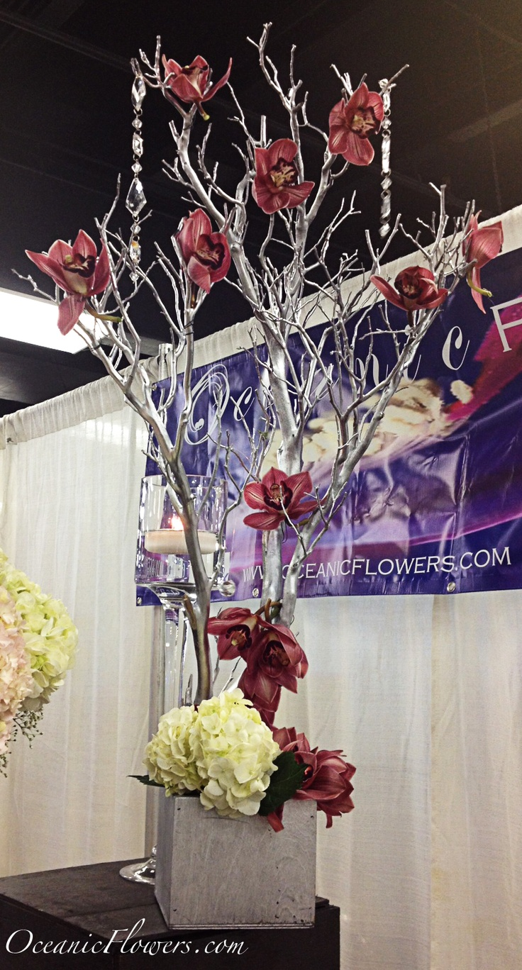 1000 Images About Tree Style Centerpieces On Pinterest