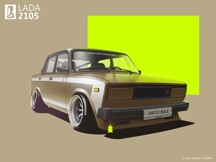 https://www.behance.net/gallery/14989281/Lada-2105