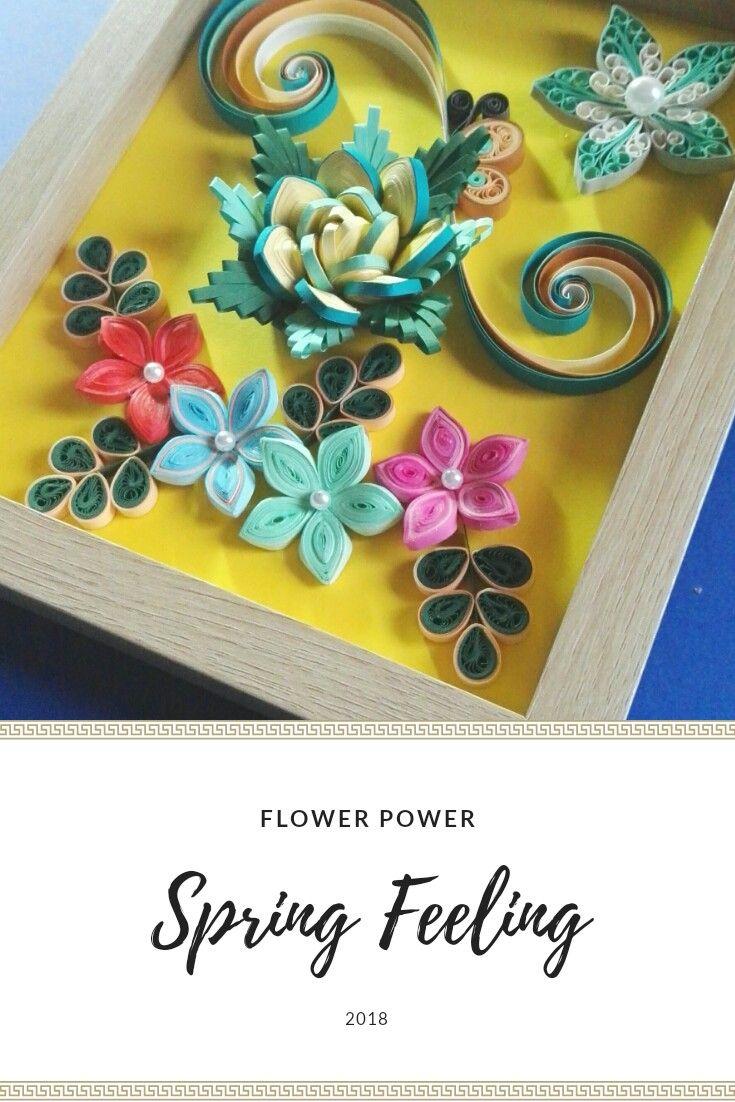 #flowerpower #quilling #spring