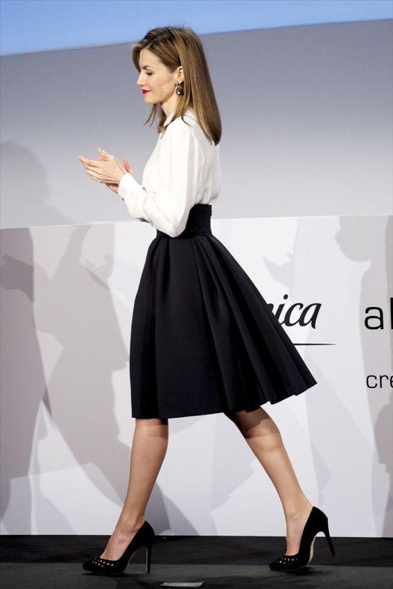 Reina Letizia: año nuevo, 'look' de estreno