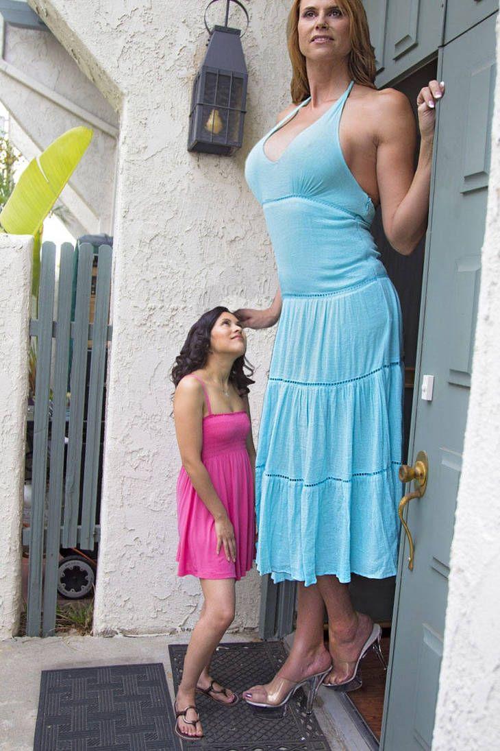 Giantess dubbed godzilla beats the bullies