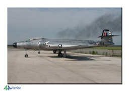 CF 100 Canuck......Oldie....I would assume this still flies as a vintage aircraft.