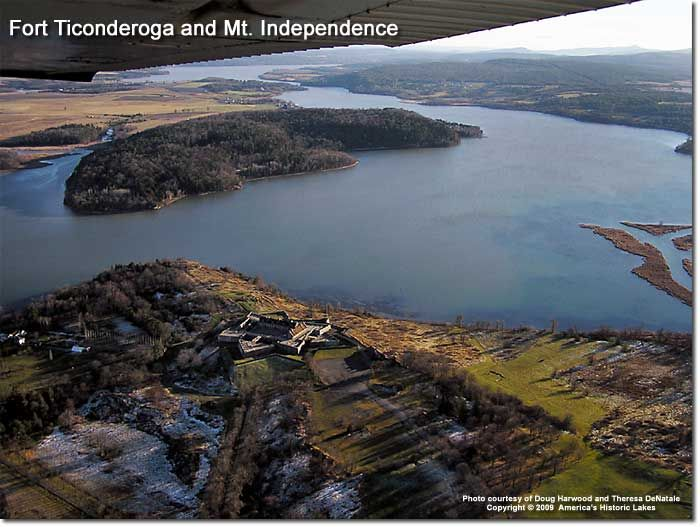 Forts Carillon and Ticonderoga on Lake Champlain- America's Historic Lakes