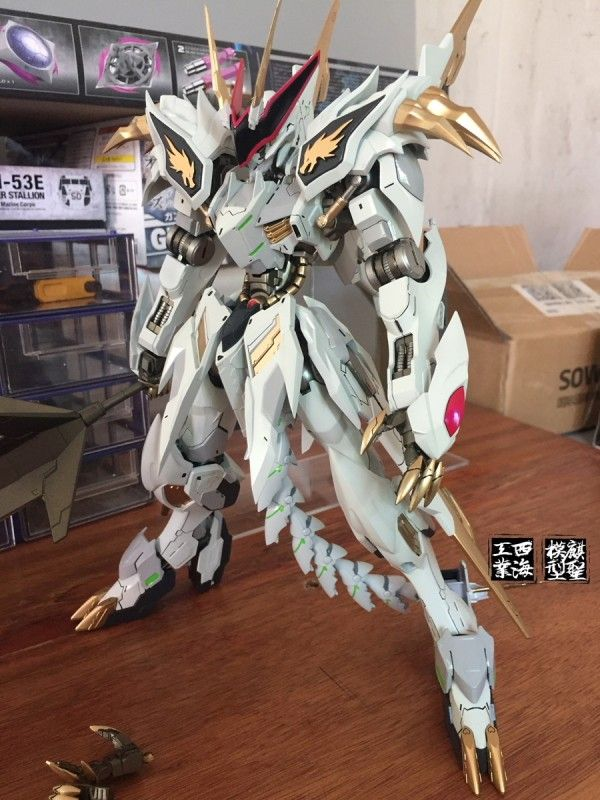 www.pointnet.com.hk - 模型作品 1/100 Gundam Barbatos 龍王丸 Ver