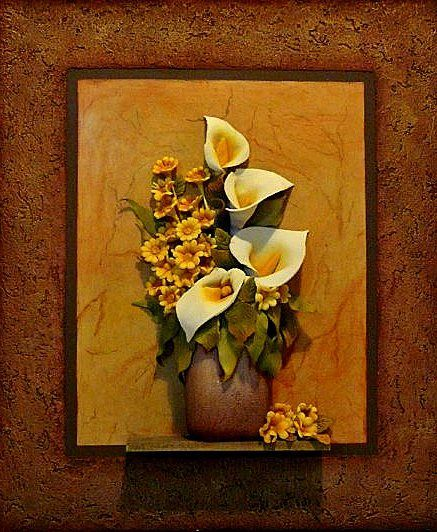 Las 25 mejores ideas sobre cuadros en relieve en pinterest for Cuadros decorativos clasicos