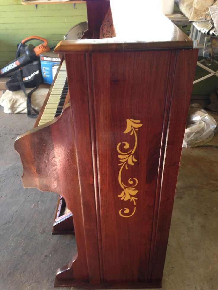 Organ finished