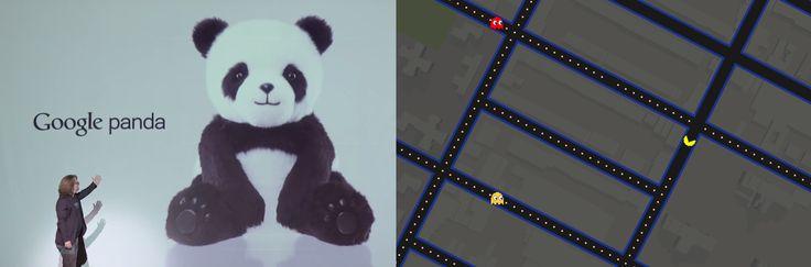 #Aprilsnar: Spil PAC-MAN i Google-maps med mere