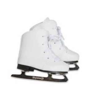 Great Skates: Your doll will enjoy gliding in these beautiful white figure skates. The sturdy construction of the blades makes them safe for play and allows your doll to stand upright when wearing them. Skating adventures await!  Includes journal pages about the world's longest outdoor skating rink - Canada's Rideau Canal.