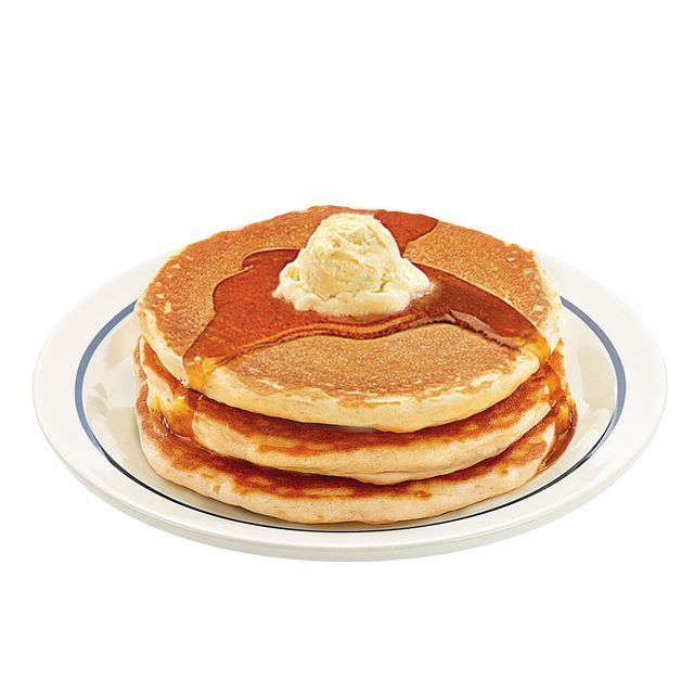 Don't flip out. But...Free pancakes, today only!