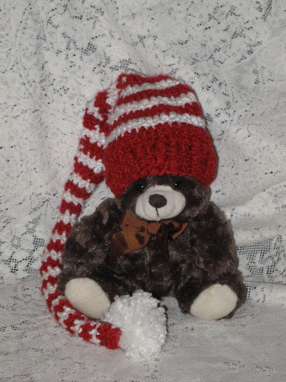 Elf hat made from soft, thick wool - would be great for photo-shoots.