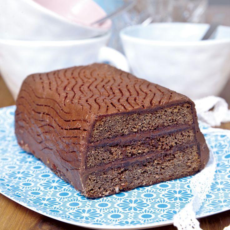 En läcker kaka som räcker till många.