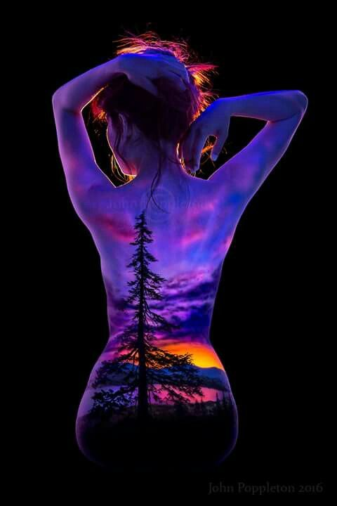John Poppleton UV Body Art