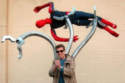 Great Doc Ock Costume: Holiday, Halloweencostumes, Cosplay, Halloween Costumes, Costume Ideas, Spiderman, Doc Ock, Octopus