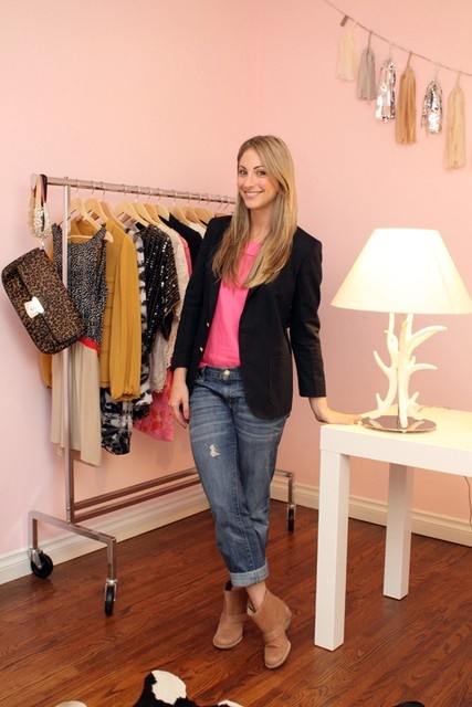 Cupcakes and Cashmere - Clothing Rack in Your Dressing Room