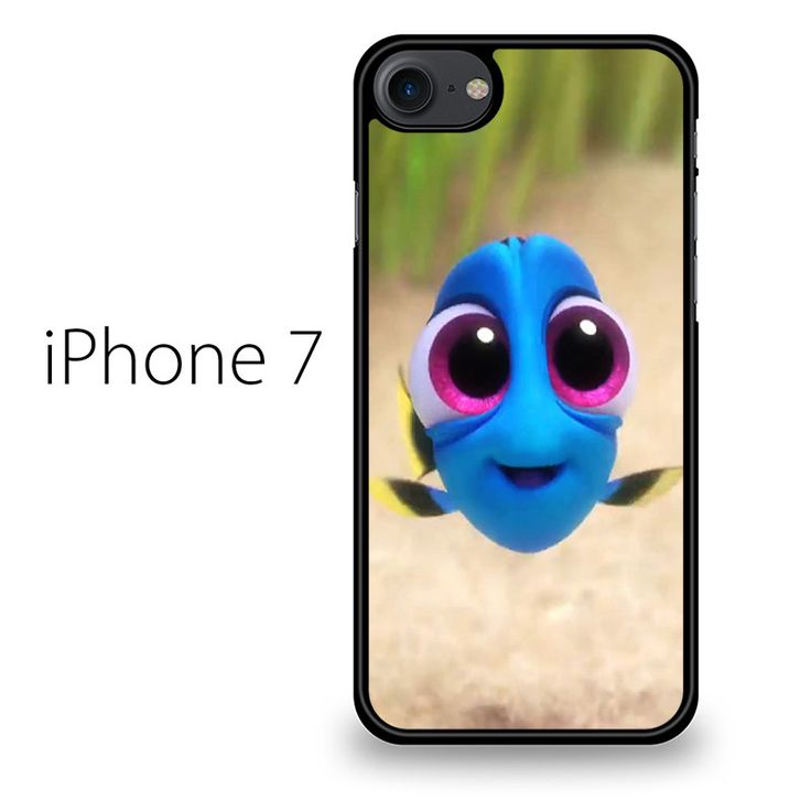 CUTE BABY DORY IPHONE 7 CASE will create premium style to your phone. Materials are from durable hard plastic or silicone rubber cases, available in black and white color. Our case makers customize an