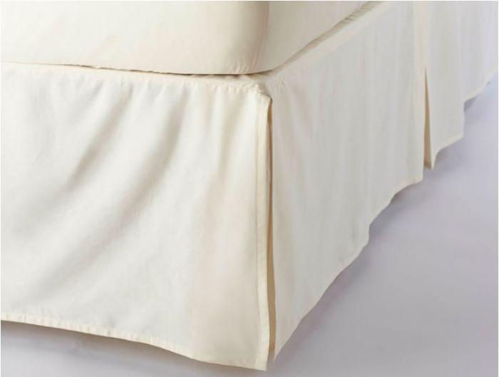 Sateen Bed Skirt - Bedding Basics - Bed | Coyuchi