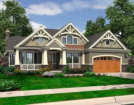 17 best ideas about craftsman floor plans on pinterest for Northwest craftsman style house plans