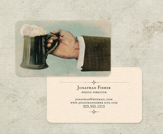 Perfect for Him   Vintage Business Cards Calling Cards by GoGoSnap, $76.00