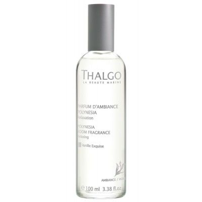 Thalgo Polynesia Room Fragrance contains ingredients from the Pacific Ocean, this soothing scent takes you on a journey to enchanting Polynesia - heaven on earth that is ideal for relaxation. Algomonoi is relaxing, protective and softening, while Micro-algae from the Pacific Ocean is calming, soothing, anti-stress, and prevents premature skin aging.
