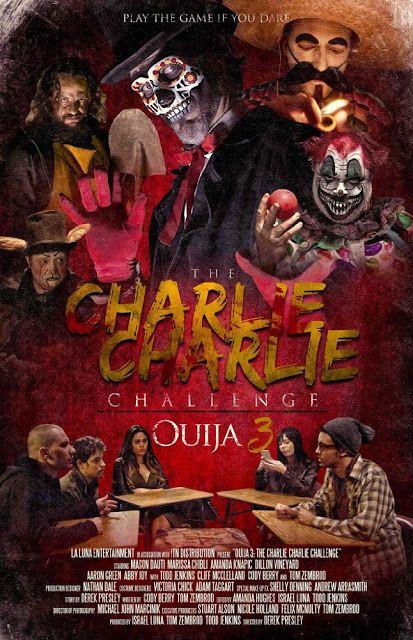 Gruesome Hertzogg Podcast  : Movie Trailers: Charlie Charlie (2016) Trailer