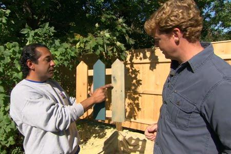 with This Old House host Kevin O'Connor | thisoldhouse.com | from How to Stain a Wood Fence