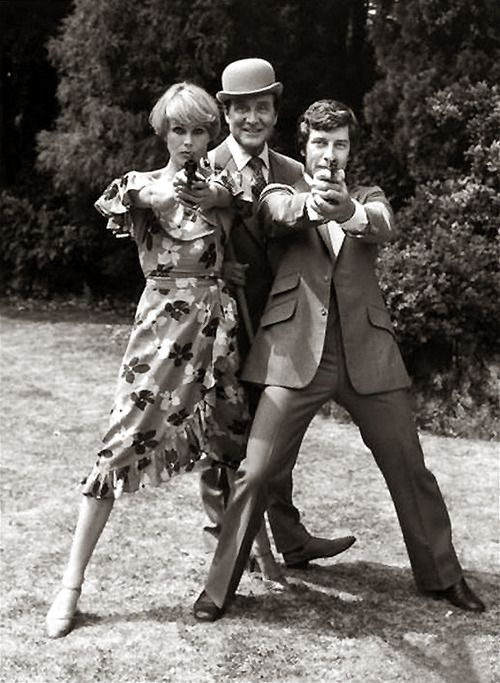 Purdey was my heroine! I wanted to be her. But I was a podgy, short Northener with zero elegance. Not a chance :(