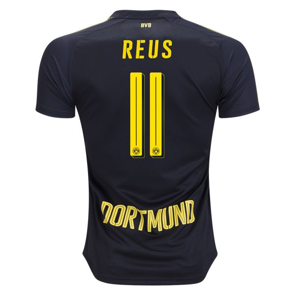 PUMA Marco Reus Borussia Dortmund Away Jersey 17/18
