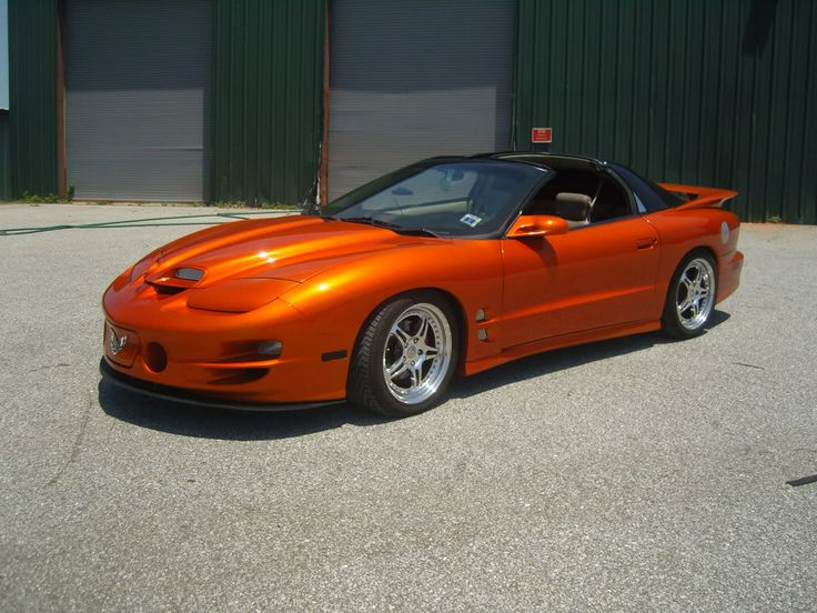 2002 Trans Am WS6 Black to Kandy Copper