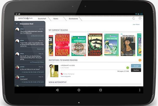 ApkApps5 - android apps apk: Mantano Ebook Reader Premium v2.5.2.1 Patched apk