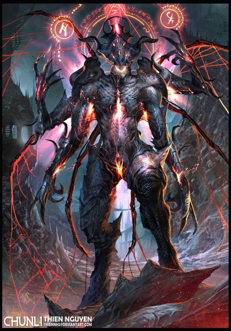 Dark Spider Lord by thiennh2 on DeviantArt