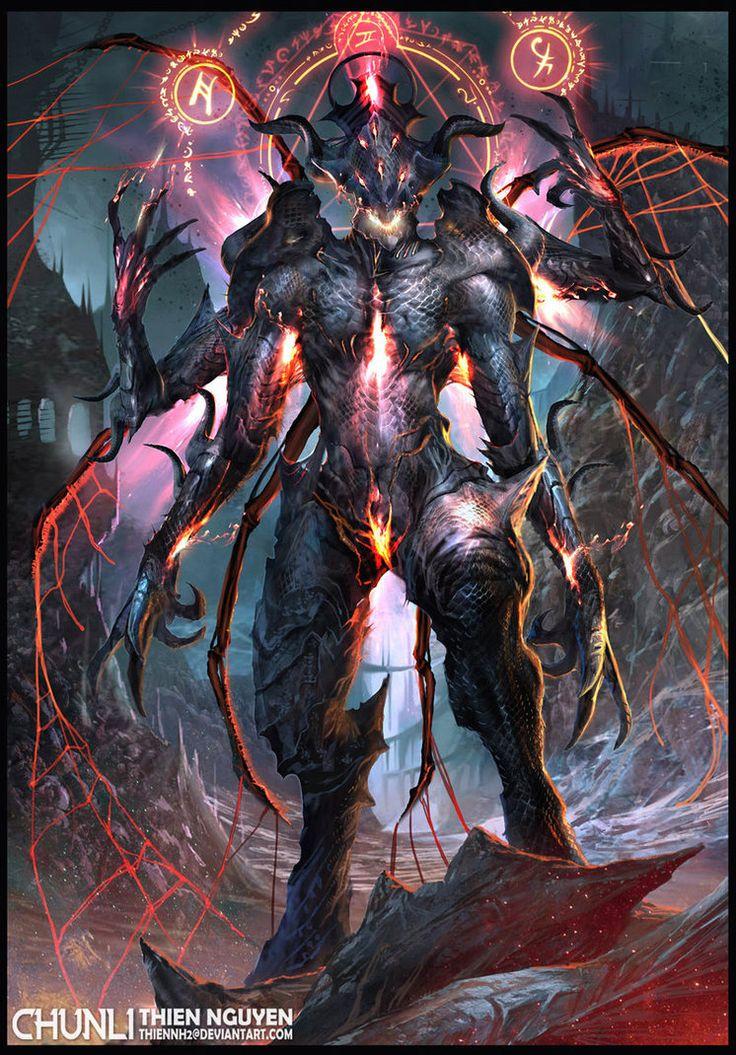 Dark Spider Lord by thiennh2 on deviantART